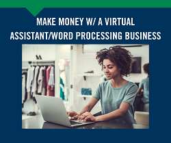 Virtual Assistant/Word Processing Business