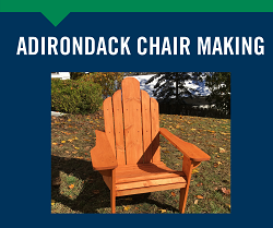 Adirondack Chair Making