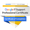 Google IT Support Professional Certificate