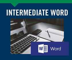 Intermediate Word, April 13th & 15th Gardner