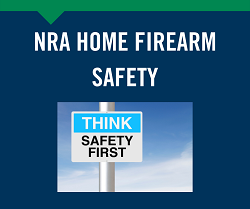 NEW! NRA Home Firearm Safety 6/5