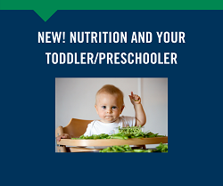 Nutrition for Toddlers/Preschoolers 6/7