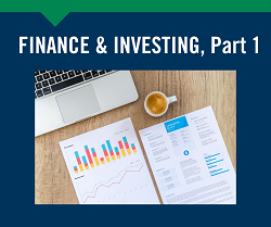Finance and Investing Part 1, May 11th Gardner